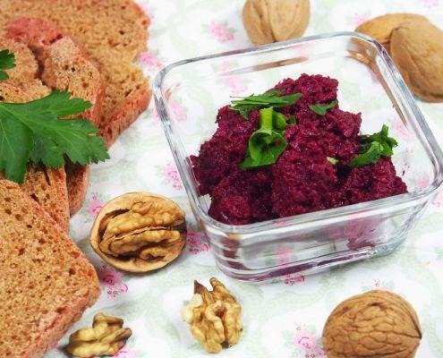 Rote Bete Aufstrich Rezept Brotaufstrich