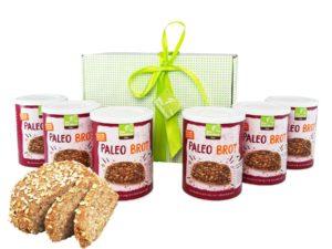 Paleo Brot Backmischung Geschenkbox 6 er Set