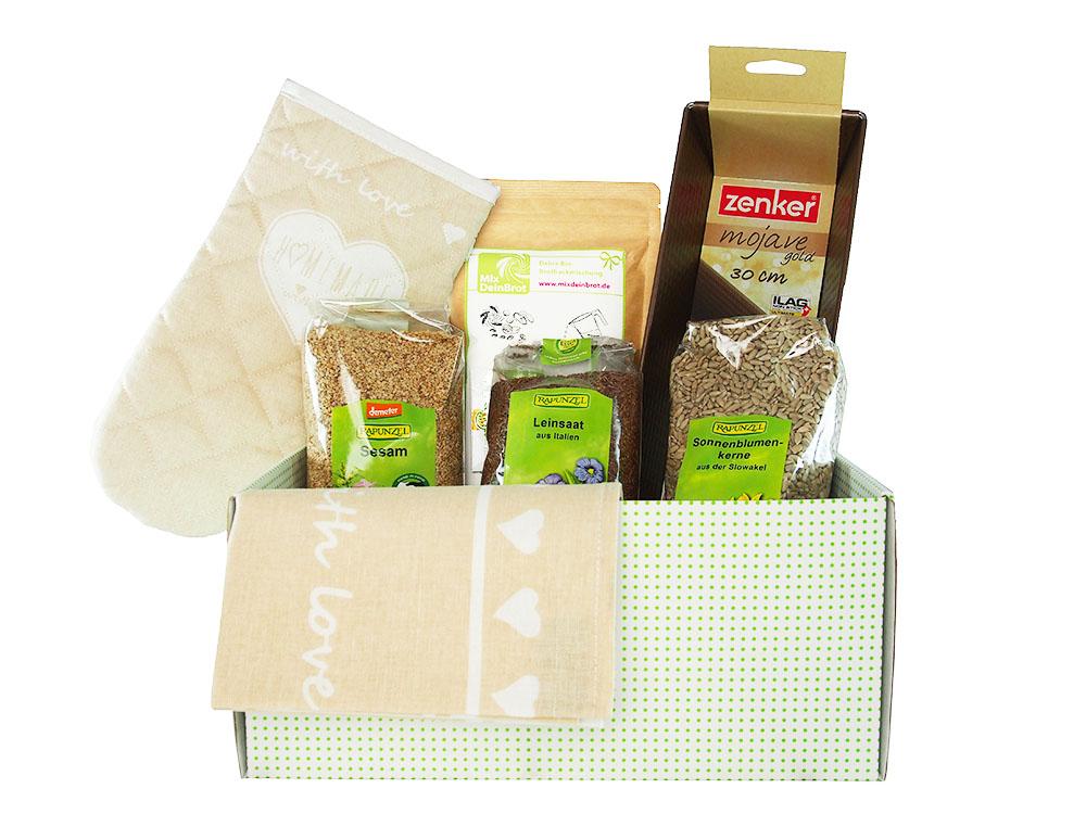 Geschenkset Brotbackbox