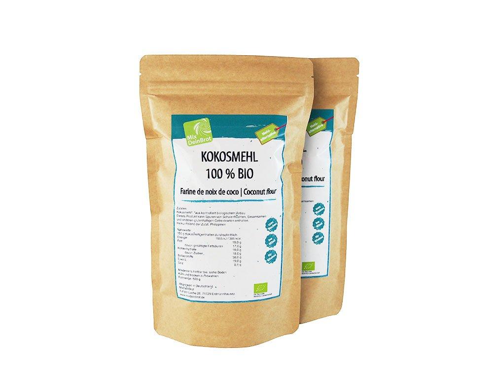 Verwendung Kokosmehl