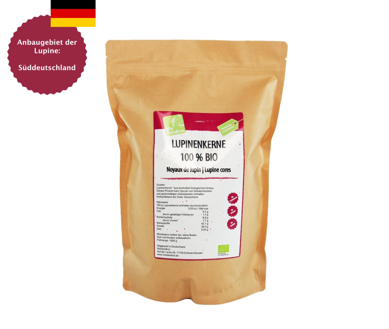 Lupinenkerne deutscher Anbau