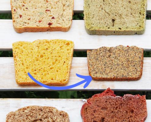 Brotrezept Dinkel-Kichererbsen-Mohn-Brot